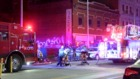 One person hurt in KCMO building fire