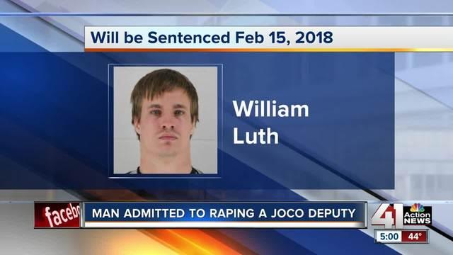 Man pleads guilty in rape of Johnson County Sheriff-s deputy
