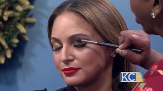 The secret to glamorous holiday makeup!