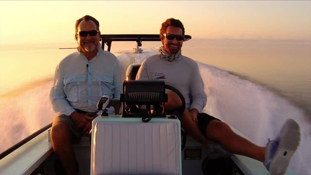 Silver Kings- Father-son fishing ahead of Gold Cup