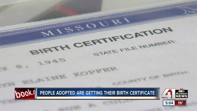MO adoptees given access to original birth certificates for first ...