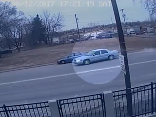 Video shows suspect's vehicle in KCK shooting