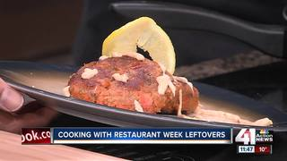 Cooking with leftovers from Restaurant Week