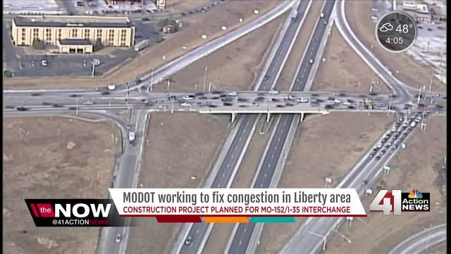 MoDOT invests -30M in Liberty interchange work