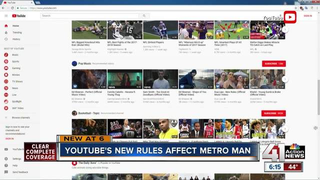 YouTube changing how content creators make money