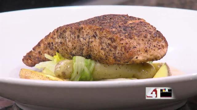 Recipe: Brown and Loe's Mushroom Dusted Salmon