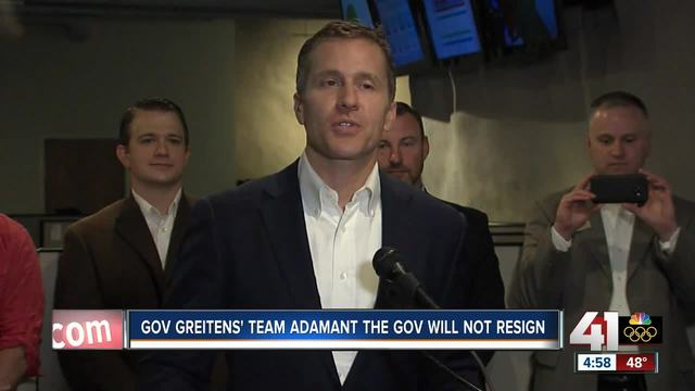 Missouri governor-s spokesman says resignation rumors are false