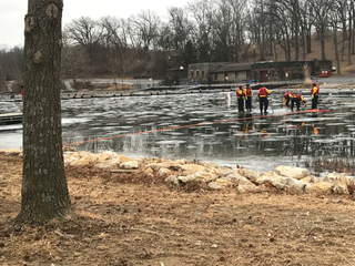 KCK firefighters train for ice rescues