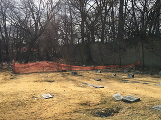 Cemetery needs $100,000 to fix safety concerns