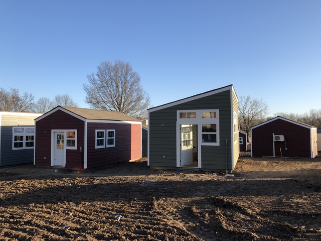 13 veterans move to tiny home village monday kshb com 41 action news