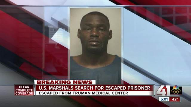 Federal prisoner captured after escape from Kansas City hospital