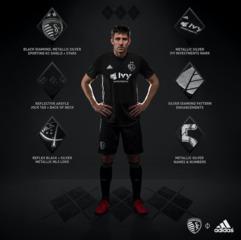 Back in Black!; Matt Besler models new kits