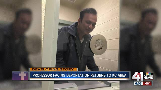 Professor fighting deportation returning to Kansas City Wednesday
