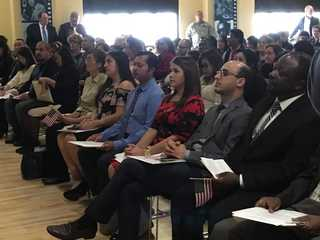 Naturalization ceremony welcomes 41 new citizens