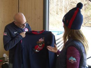 Mancuso takes a look at the Team USA house, gear