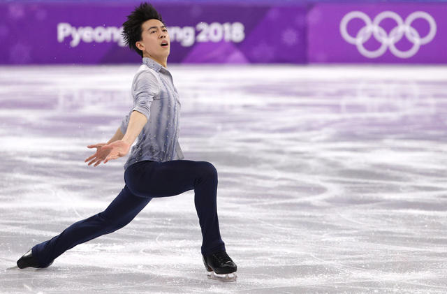 Winter Olympics 2018: Vincent Zhou makes Olympic history with first quadruple Lutz