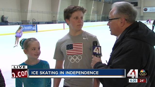 Young Olympic hopefuls hit the ice early in KC