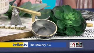 DIY jewelry storage project with Makery KC