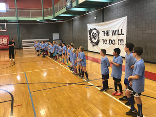 Soccer clinic benefits domestic violence shelter