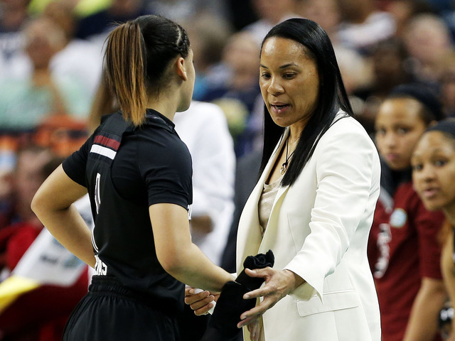 Carolina women's coach files defamation lawsuit against Missouri AD for slander