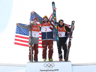 OLYMPICS: US takes gold, silver in ski halfpipe