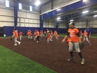 Badges and Baseball camp builds relationships