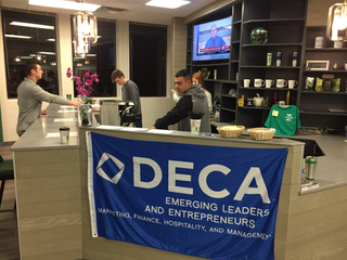 SMSD students learn entrepreneurship with coffee