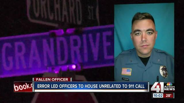 Officer Killed Responding to Wrong Home After 911 Call