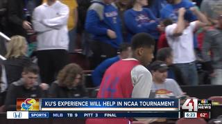 No pre-game jitters for Jayhawks