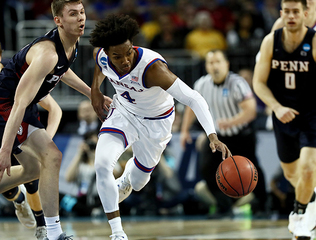 KU guts out first-round win against Penn