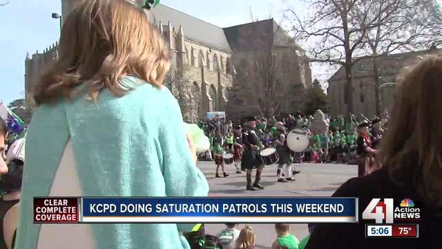 Patrick's Day brings drunk driving patrols