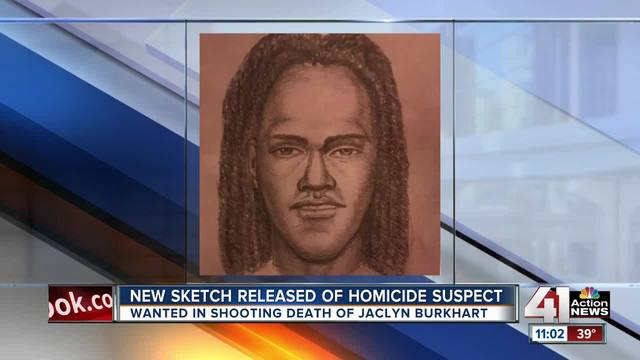 Police release sketch of man wanted in murder
