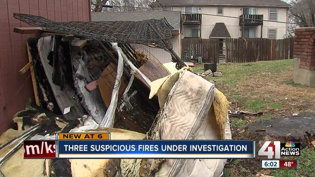 Series of Grandview fires believed to be arson