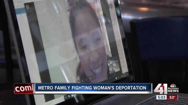 Kansas City family hopeful deported mom will return home