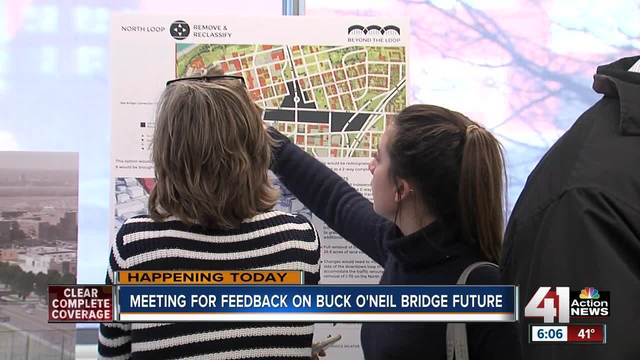 Give your input on Buck O-Neil Bridge-s future