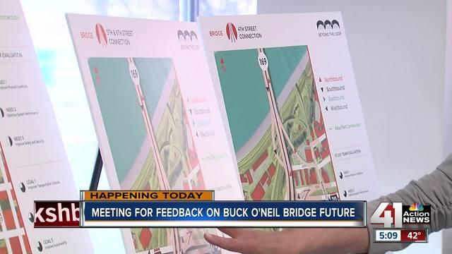 You can give input on Buck O-Neil Bridge-s future