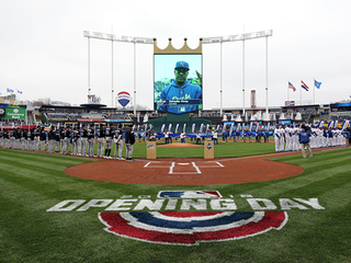 Royals take loss on Opening Day