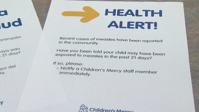 Measles cases on the rise