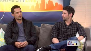 James Lafferty and Stephen Colletti in KC