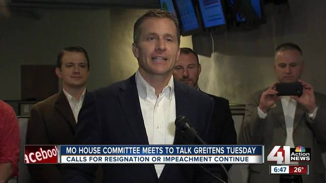 Missouri lawmakers return to work under Greitens cloud