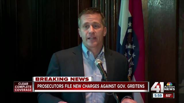 Eric Greitens Charged With Felony Computer Tampering