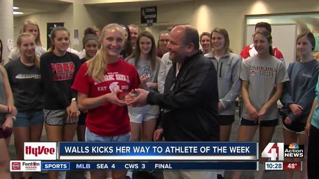 Alison Walls earns Hy-Vee Athlete of the Week