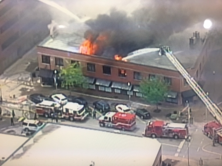 Crews Battle Large Building Fire In North Kansas City 41 Action News