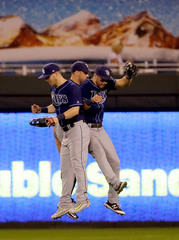 Rays hop past the Royals, 2-1, at the K