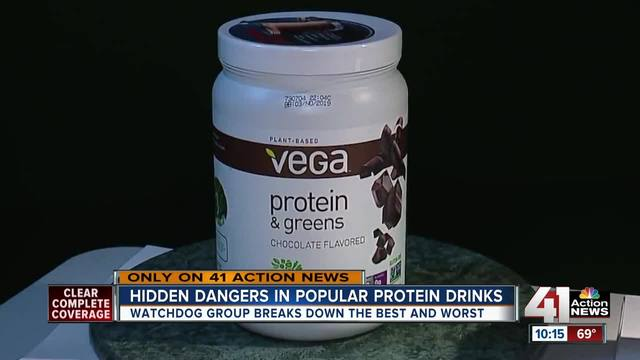 Some protein powders contain unsafe metals