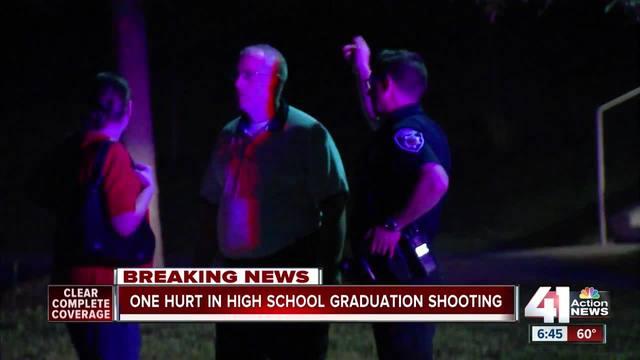 Student shot at Center High School graduation ceremony