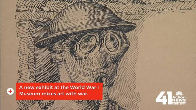 World War I exhibit matches artists with war