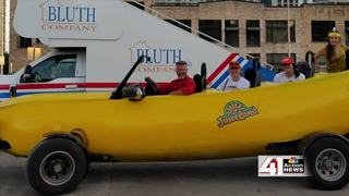 World's Largest Banana Car travels through town