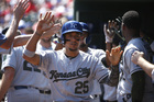 Royals trade outfielder Jon Jay for two pitchers