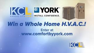 Win a brand new HVAC system from Comfort by York